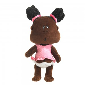 Ishababies Mocha Girl Black Doll