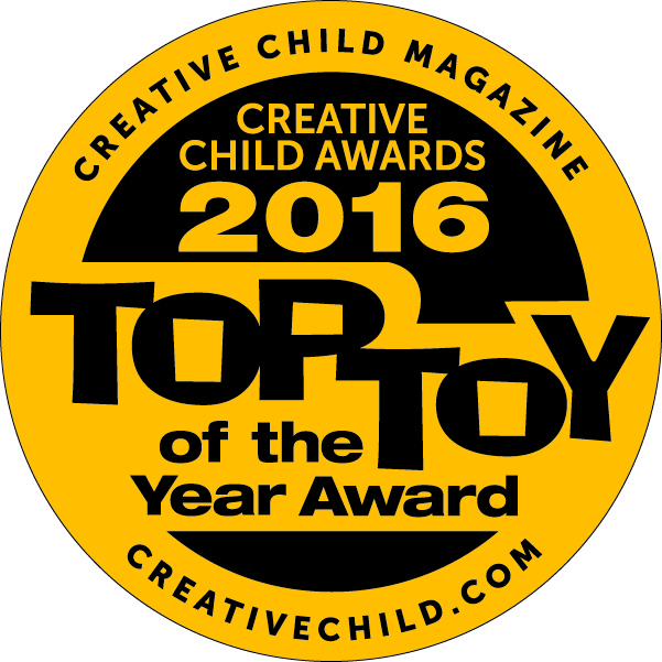 Winner of the '2016 Top Toy of the Year' Award from Creative Child Magazine